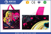 Plastic Laminated PP Woven Shopping Bag With Handle Vivid Printing Effect Recyclable