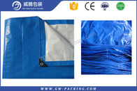 China Outdoor High Density Large Plastic Tarp , Heavy Duty Waterproof Tarpaulin Covers factory