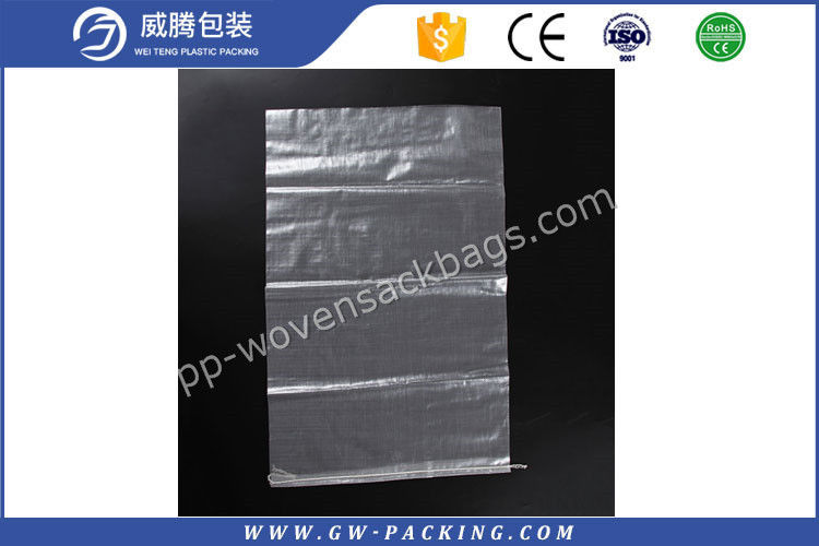 Eco Friendly PP Transparent Bag Biodegradable Poly Woven Sacks Non - Toxic