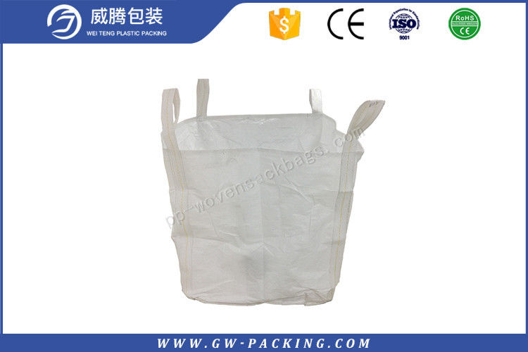 UV treated any color choosen1 ton flexible Jumbo bag for packing ore and garbage double warp fabric