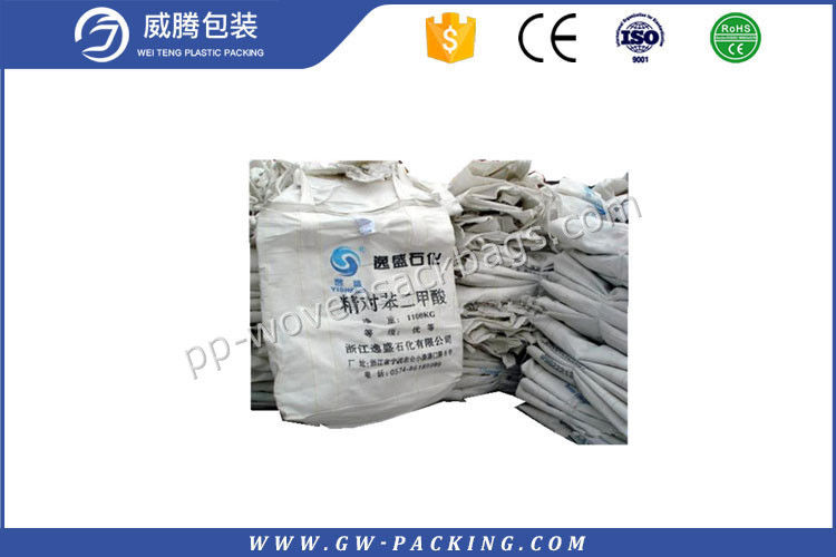 Industrial Fibc Jumbo Bags Sacks Waterproof Non - Delaminating Packaging