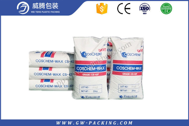 Durable Premix Concrete Bags , Polypropylene Fabric Bags For Packing Buliding Material