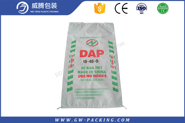 Sugar Soybean Poly Woven Sacks Food Grade , Laminated Woven Polypropylene Bags