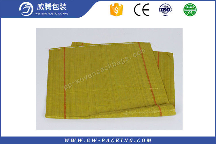 Custom 50 KG PP Woven Sack Bags Non - Leakage  For Sand Construction Trash