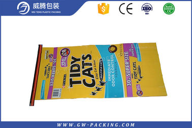 China 100% Virgin PP Woven Polypropylene Feed Bags High Tensile Strength Animal Feed Sacks For Dog distributor