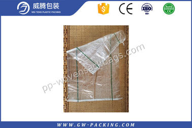 China Rice Packing PP Transparent Bag High Load Bearing Strength Non - Delaminating Packaging distributor