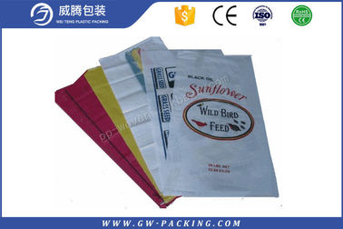 China Durable Bopp Woven Polypropylene Feed Bags Food Grade 50kg For Animal Feed distributor