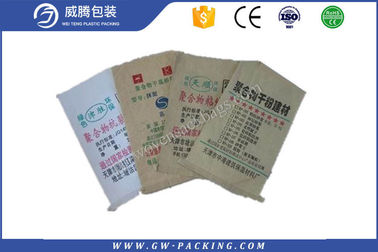 China Uv Protection Polypropylene Cement Bags Recyclable Offset Printing Moisture Proof distributor
