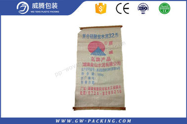 China High Standard Ready Mix Cement Bags , Empty 100% Virgin PP Cement In Bulk Bags distributor