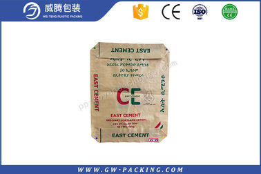 China Classic Block Bottom Polypropylene Cement Bags 25kg Durable For Packing Coffee distributor