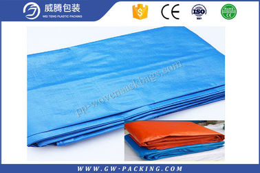 China HDPE Plastic Waterproof Tarpaulin Sheet Anti - UV PE Laminated Tent Cover 2 X 3m distributor