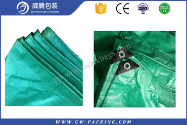 China Lightweight Large Waterproof Tarpaulin , 4 X 6m Tent Cover Sheet Sun - Resistant distributor