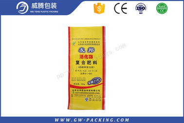 China Eco Friendly Fertilizer Packaging Bags 50kgs Load Weight UV - Protection Treatment distributor