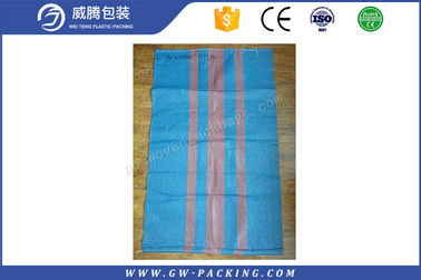 China 25kg Lamintaed PP Woven Sack Bags For Building Material Packing With Valve distributor