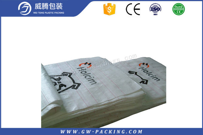 Kraft Paper Feed Woven Polypropylene Feed Bags High Tensile Strength Customized