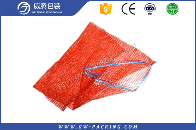 10kg  25kg  30kg PP Leno Mesh Bags For Potato Eggplant Cabbage Packing
