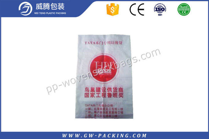 Polypropylene woven pp bag which can pack 20kg 50kg sand manufacturers Accept custom order
